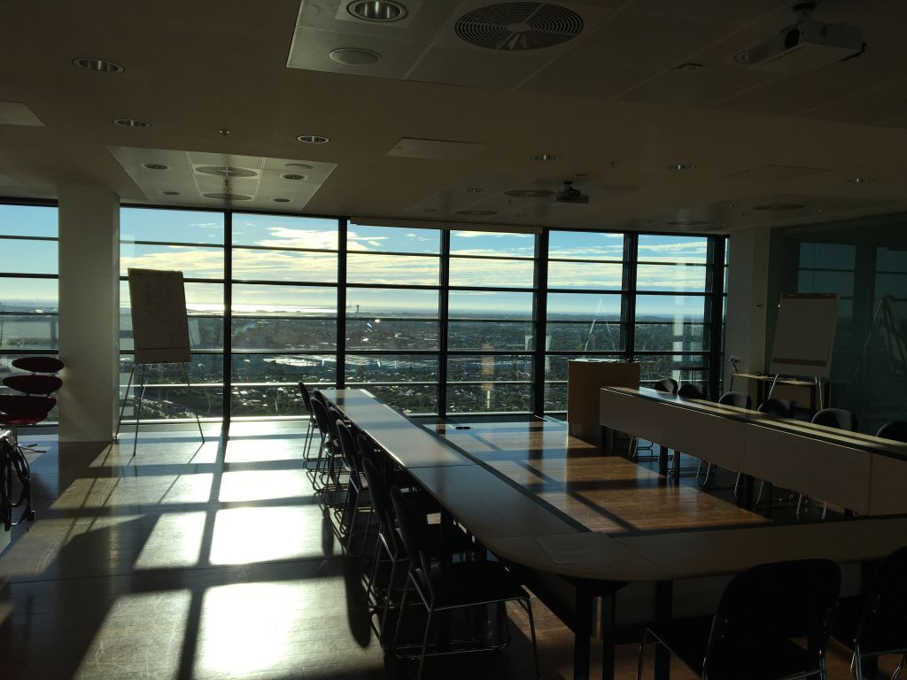 Top-Floor Meeting in Kopenhagen